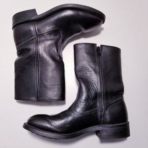Work n Sport Mens Leather Boots size 8 D